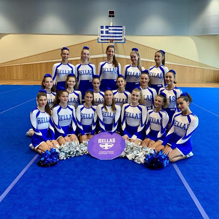 Παγκόσμιες διακρίσεις για το «ελληνικό» Cheerleading (pics)   F4 Team Pom