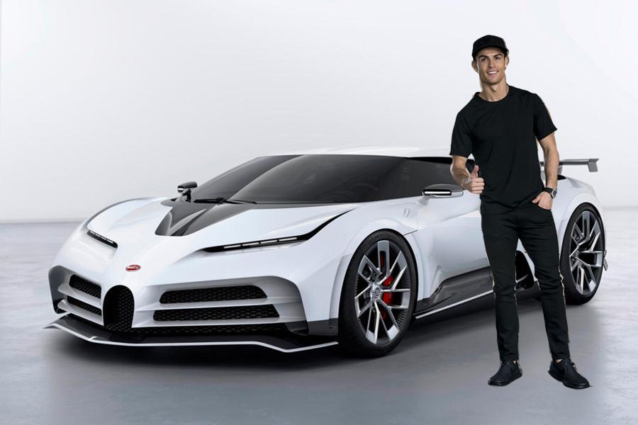 Κριστιάνο Ρονάλντο: Άκρως εντυπωσιακό το νέο supercar του Πορτογάλου σταρ (pics) | Cristiano Ronaldo Bugatti Centidieci featured